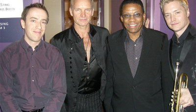 GK, Sting, Herbie Hancock, Chris Botti