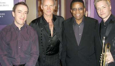 GK, Sting, Herbie Hancock, Chris Botti