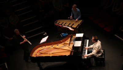 Storms/Nocturnes Tim Garland, Joe Locke & GK performing in Sheffield, UK, 2012