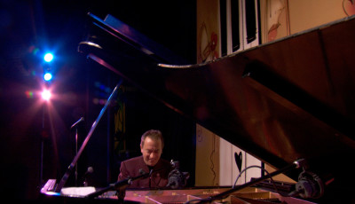 Playing music from my new solo piano CD 'Heart of the Piano'