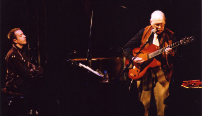 w/ Jim Hall in Japan, May 2009