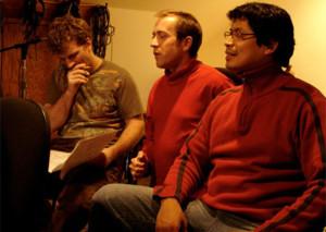 Recording GK's Grammy-nominated CD 'AUREA' Jon Wikan, GK, Hugo Alcazar