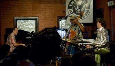 Geoffrey Keezer Trio @ The Rex, Toronto. July 2010 GK, Essiet Essiet, Jon Wikan