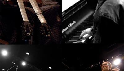 Geoffrey Keezer/Peter Sprague Band Clockwise from top L: Peter Sprague, GK, Hamilton Price, Duncan Moore